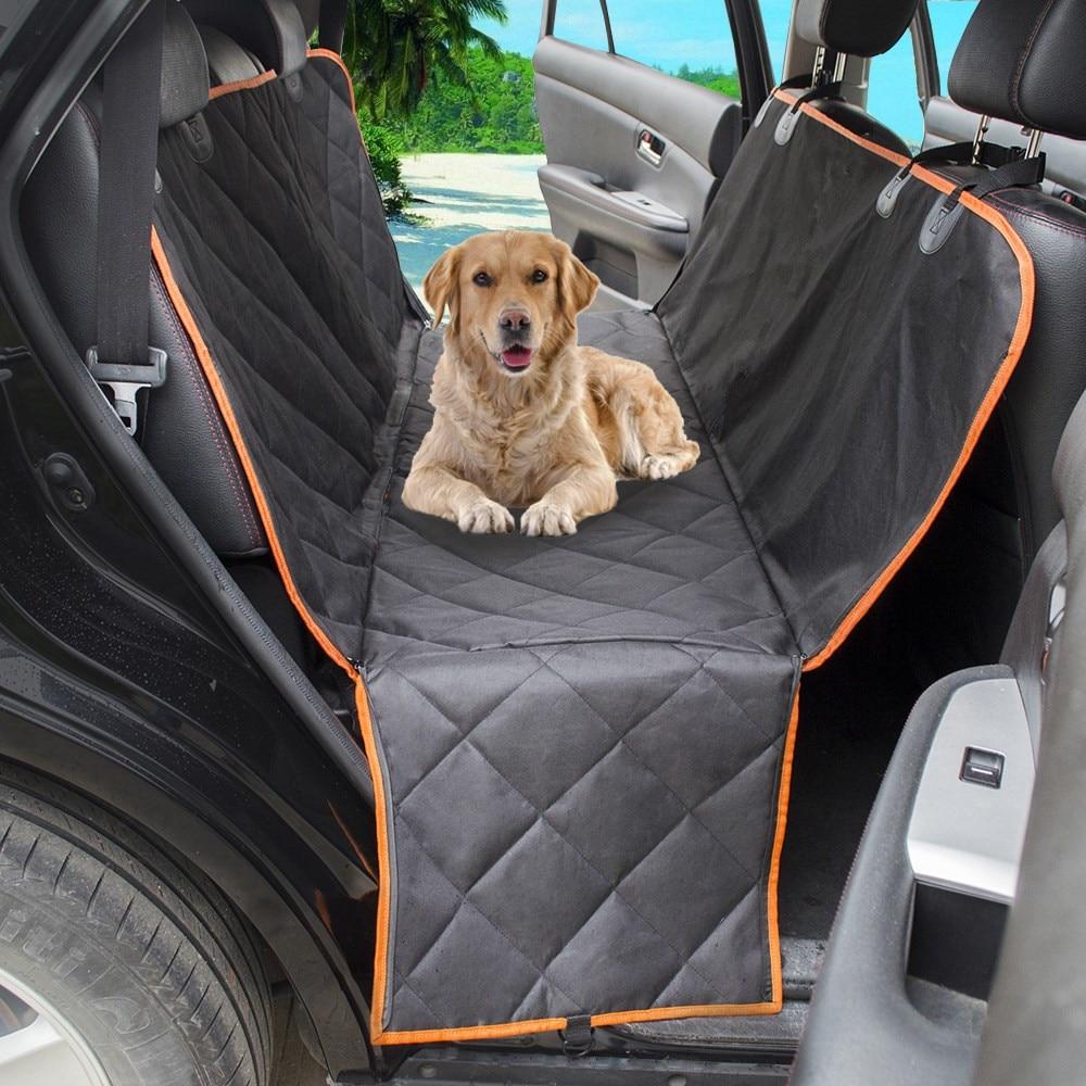 Pet Car Hammock >> Waterproof Quilted Non Slip Pet Dog Car Seat Cover Hammock Pet Accessories Mat Blanket Back Seat Protector