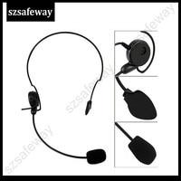 kenwood baofeng uv שני דרך אוזניות רדיו עבור Kenwood עם הדחיפה PPT אצבע כדי לדבר על Baofeng UV-5R TK-208, TK-220, TK-240, TK-240D 8 משלוח חינם (2)