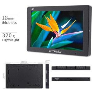 Image 2 - Feelworld T7 7 Cal na polu kamery Monitor DSLR 4K HDMI Ultra Full HD 1920x1200 wyświetlacz LCD IPS przenośna aluminiowa obudowa