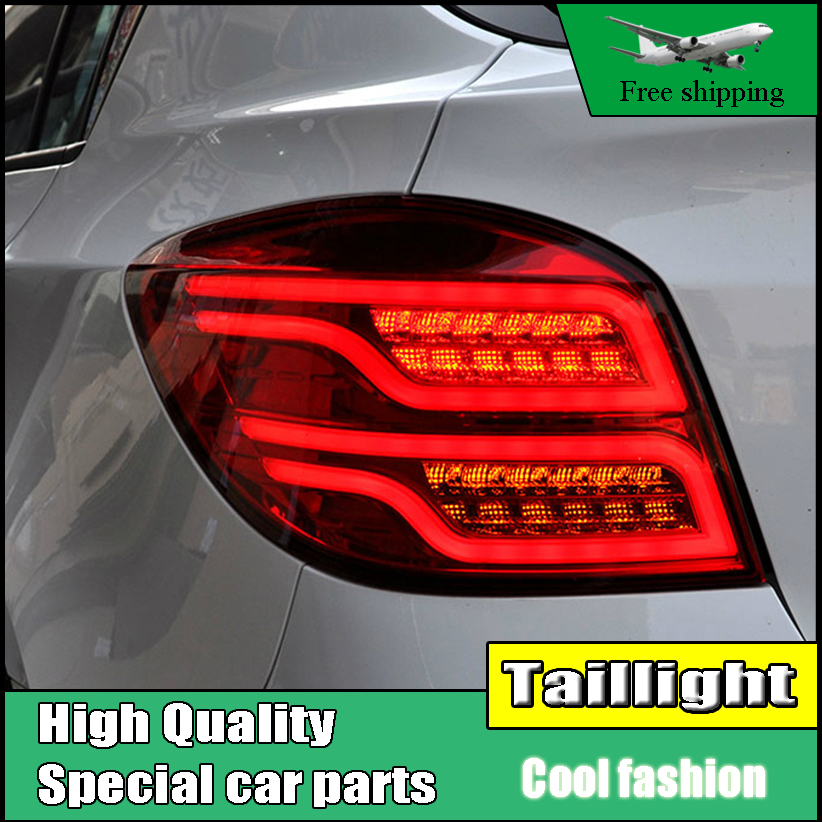 Car Styling Tail Lamp For Chevrolet Cruze Taillights Hatchback 2009-2014 LED Rear Light Tail Lamp DRL+Brake+Park+Signal light car styling tail light case for suzuki swift taillights 2005 2014 led tail lamp rear lamp drl brake park signal light