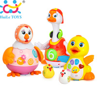 Baby Toys EQ Flapping Yellow Duck Electric Hip Pop Dance Read Tell Story Interactive Swing Goose