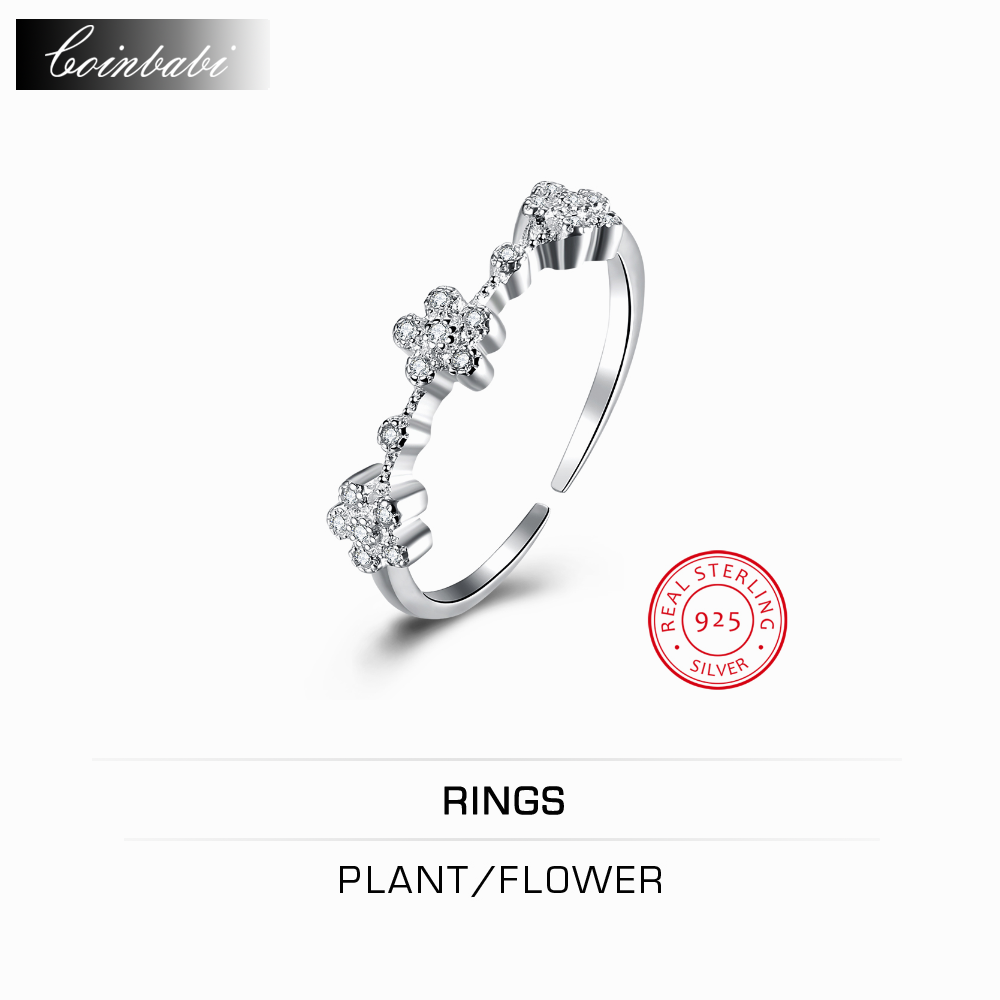 online get cheap electronic resumes com alibaba group ring plant flower 925 silver inlay sanhua opening ring jewelry whole rs whole website direct manufacturers