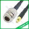 Лидер продаж Танжер MCX Штекер N Женский Разъем RF RG58 Pigtail джемпер коаксиальный кабель 40 дюймов 100 см Высокое качество