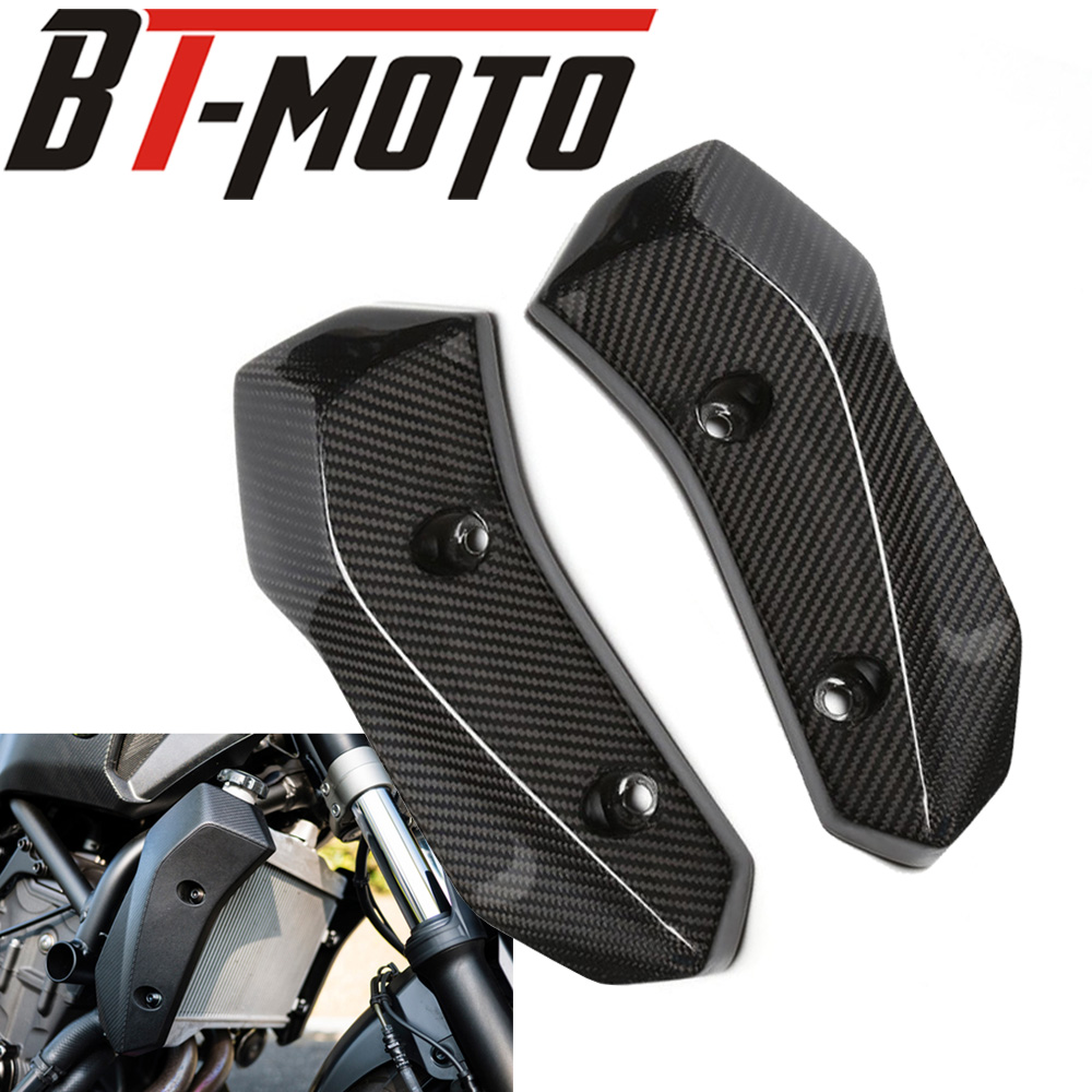 Motorcycle Carbon Fiber Radiator Grille Side Guard Cover ProtectorFor Yamaha MT07 MT 07 MT-07 FZ07 FZ-07 2013-2017Motorcycle Carbon Fiber Radiator Grille Side Guard Cover ProtectorFor Yamaha MT07 MT 07 MT-07 FZ07 FZ-07 2013-2017