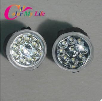 LED Fog Lamp Highlight lights Car Light Case For Nissan Qashqai Tiida SYLPHY TEANA New Sunny LIVINA Accessories