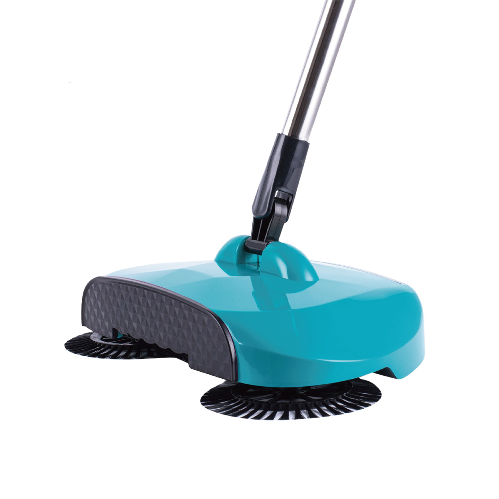 Stainless Steel Sweeping Machine Push Type Hand Push Magic Broom Dustpan Handle Sweepers Mop Household Cleaning Tools(China)