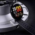 Новые смарт-часы IP68 Водонепроницаемые мужские и женские IPS цветной экран Bluetooth Камера пульсометр фитнес-трекер спортивные часы