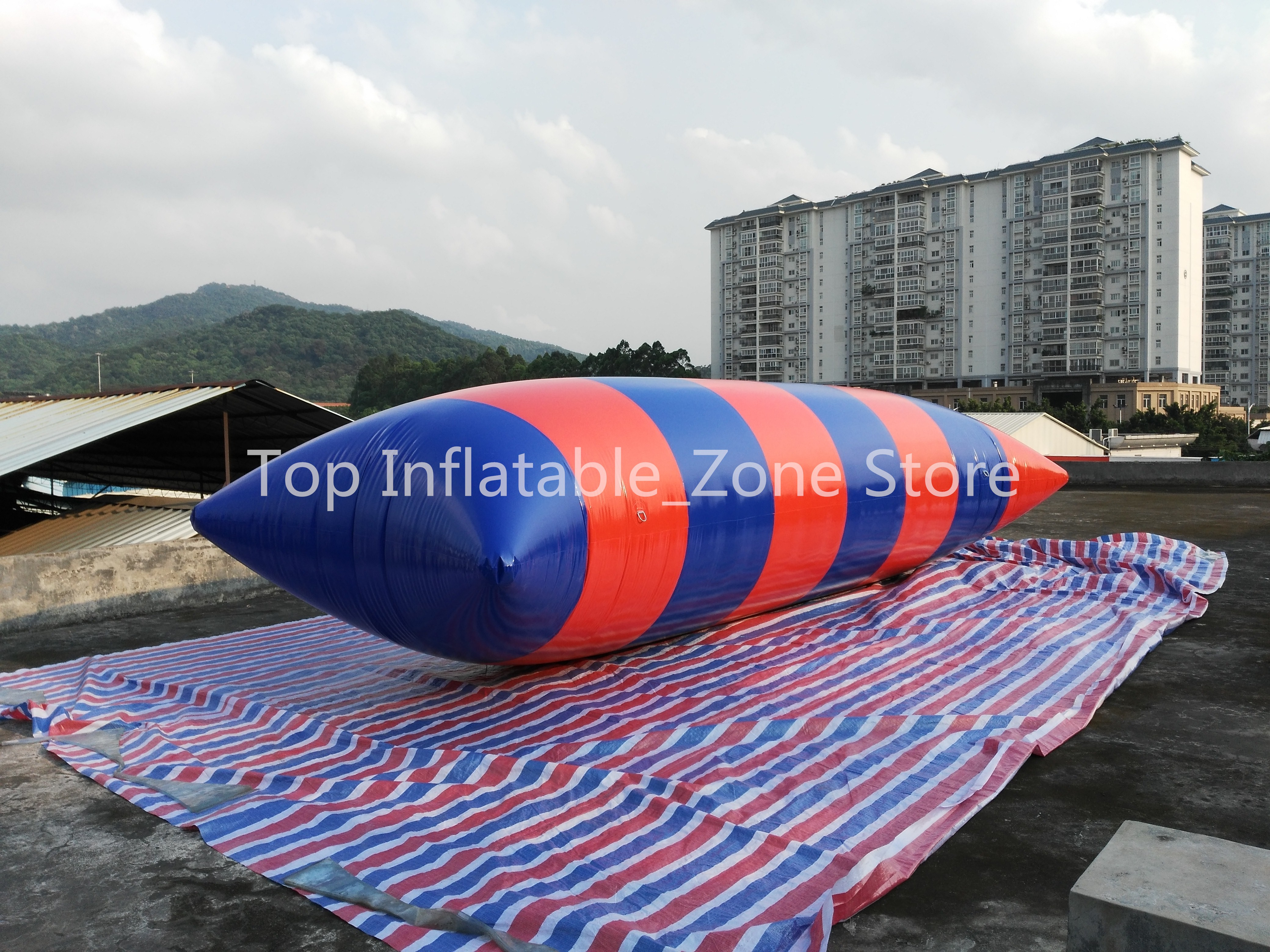 Free Freight 8*3m PVC Water Jump Pillow Catapult Inflatable Jumping Blob Inflatable Water Blob Bouncing Bag Water PillowFree Freight 8*3m PVC Water Jump Pillow Catapult Inflatable Jumping Blob Inflatable Water Blob Bouncing Bag Water Pillow