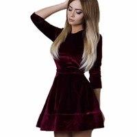 2017 Auntum Girl Dress Lady Womens Bandage Bodycon Long Sleeve Evening Party Short Mini Dress Vestidos