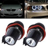 PAIR ERROR NO LED HALO RING ANGEL EYE LIGHT BULB FOR BMW E39 E87 E60 E53