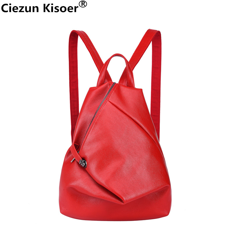 mochilas mujer 2018 Backpacks Fashion mini backpa Summer New Travel Backpack Australia College Wind Soft Leather Casual Ms. bags new college wind leisure backpack fashion ladies pu leather bags travel schoolbag drawstring backpacks