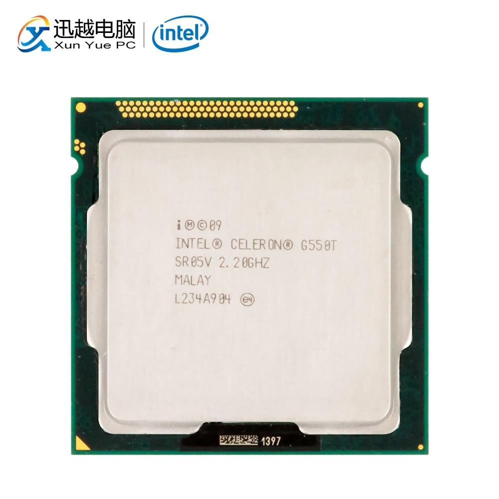 Intel Celeron G550T Desktop Processor G550 T Dual-Core 2.2GHz 2MB L3 Cache LGA 1155 Server Used CPU