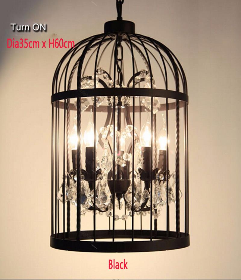 Retro-Lamparas-Black-Decor-American-Vintage-Industrial-Bird-Cage-Pendant-Light-With-Crystal-Ornaments-Nordic-Birdcage114