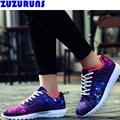 hot sell women fashion casual shoes breathable ultra light camouflage ladies tenis trainers shoes women leisure flats shoes d222