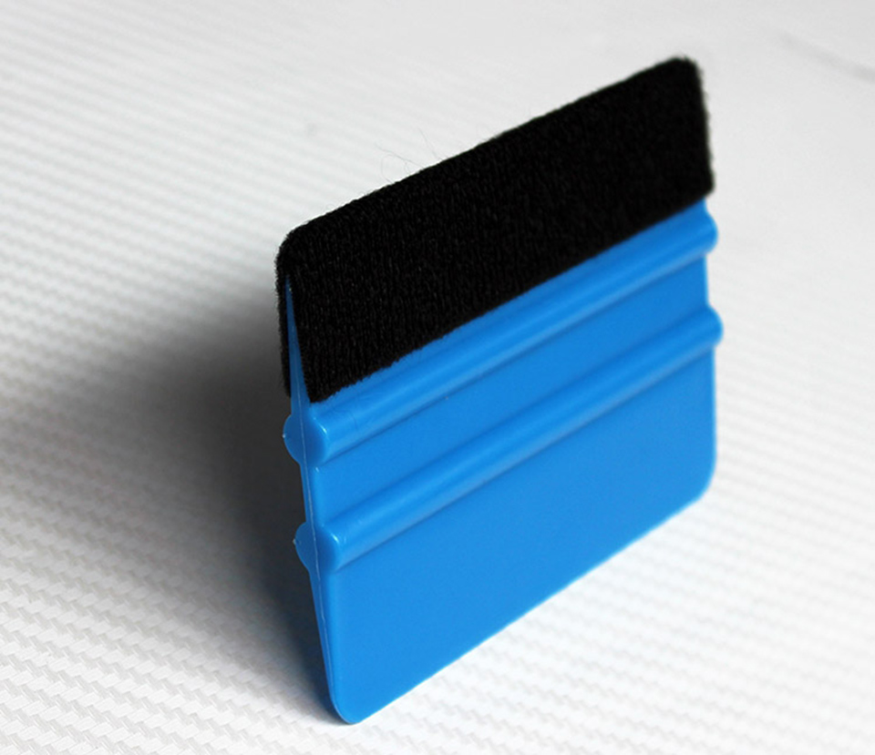Image 4 - 10*7.5cm 3 M Hand Applicator Squeegee Felt Edge Bump Cards Bondo Squeegee With Felt For Car Wrapping PA 1F Whole Sale-in Car Stickers from Automobiles & Motorcycles