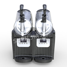 цена на TKX-2.5L*2 double cylinder snow mud machine / snow melting machine mini cylinder snow machine / cold drink machine beverage
