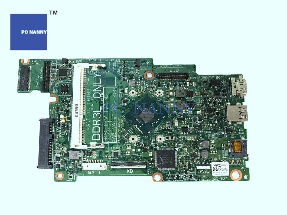 PCNANNY Moederbord M9X35 0M9X35 15299 1 DDR3L voor Dell Inspiron 11 3168 i3168 N3710 1.6 GHz Intel HD Graphics laptop Moederbord-in Laptop Moederbord van Computer & Kantoor op AliExpress - 11.11_Dubbel 11Vrijgezellendag 1