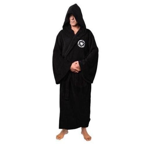 Star Wars Darth Vader Terry Coral Fleece Bath Robe Bathrobe Men Warm Cosplay Costume