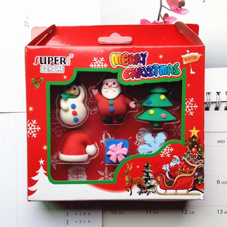Cartoon Christmas Cartoon Cute Snowman Christmas Cute Christmas Friends Christmas Stationery Eraser