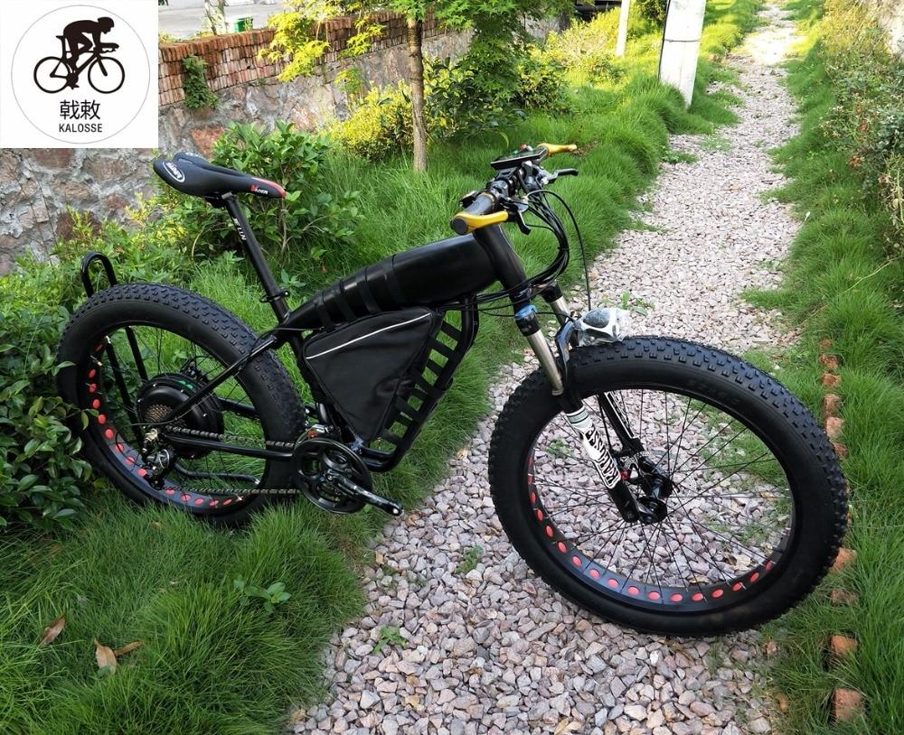 88810ea9c4e Kalosse Li-battery 48V 1000W 21AH electric fat bike Beach bicycle 27 speed  M4000 electrical snow bike
