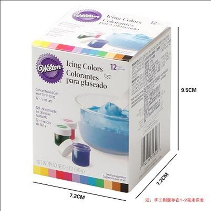 Free shipping America Wilton Double sugar cake pigment color paste ...
