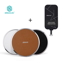 NILLKIN Qi Wireless Charger Pad And Receiver Portable Wireless Charger Pad For Samsung IPhone Xiaomi Meizu