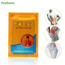 40Pcs/5Bags Pain Spirit Bone Patch Self Heating Black Plaster Chinese Herbal Reliving D1137
