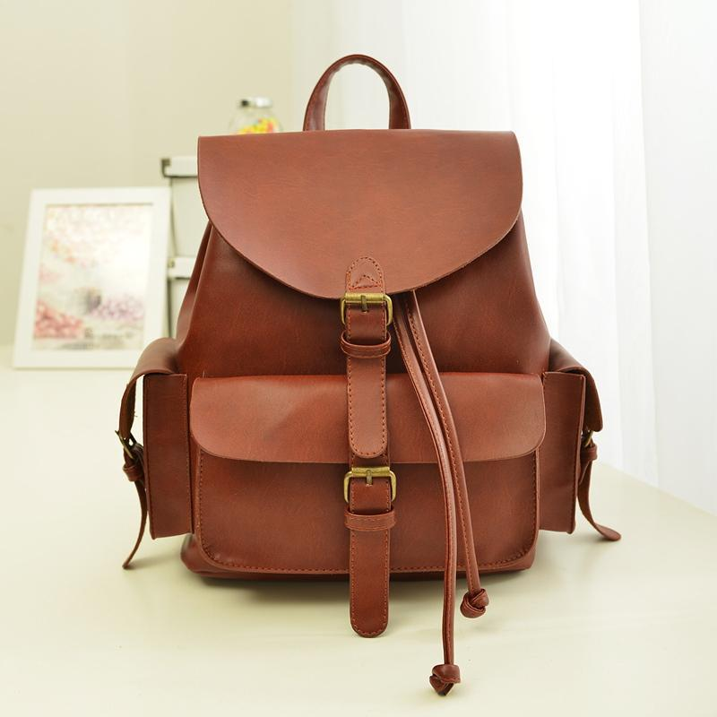 Online Shop Mochila Feminina 2014 Fashion Women Bag Leather ...