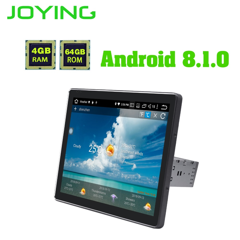 9.7 New Product Single Din Universal 1024*768 Android 8.1.0 Car Radio Stereo Head Unit GPS Navigation Multimedia Music Player