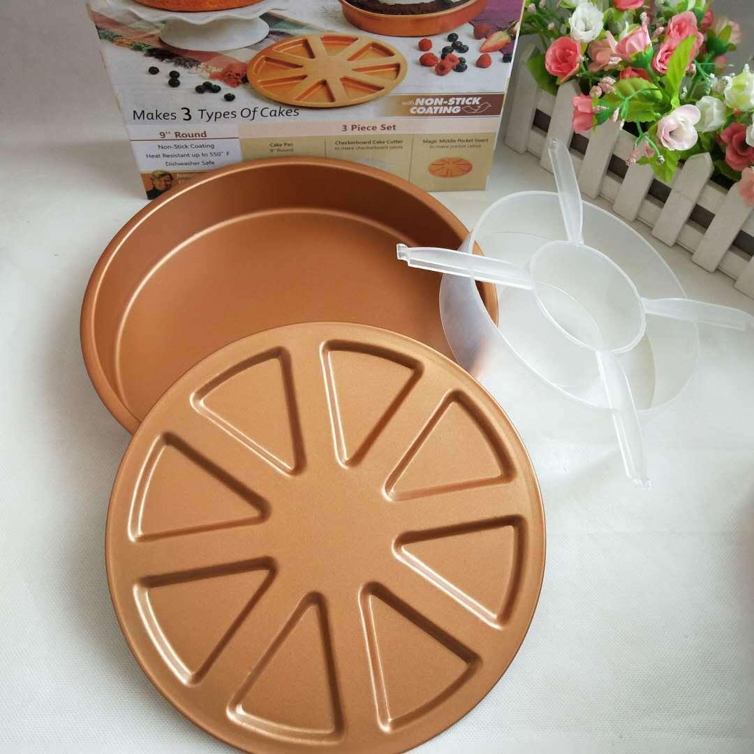 Copper Mold Cake Pan - 3pcs/set Cake Mold Copper