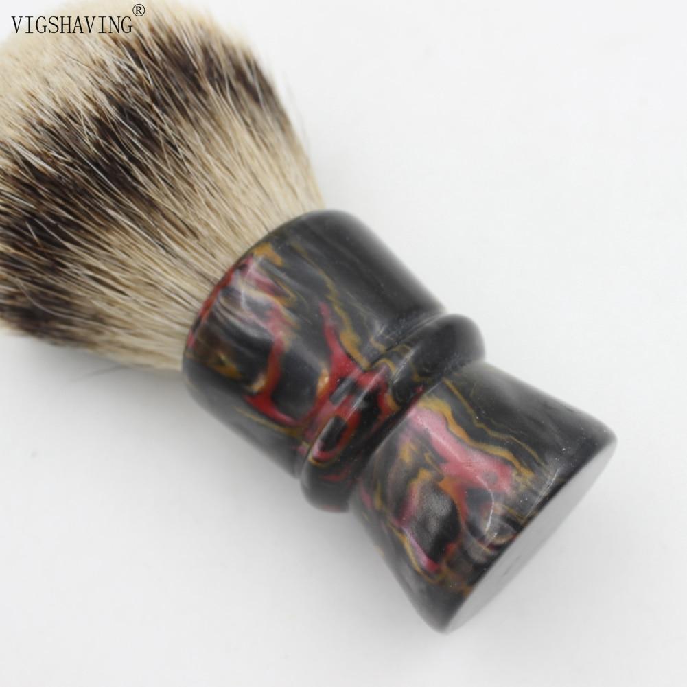 30mm Resina Handle Silvertip Badger Cabelo Shaving