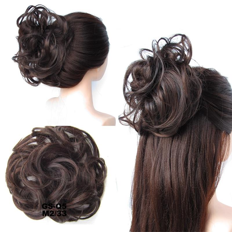 jeedou Синтетические волосы Chignon Donut Black - Синтетические волосы - Фотография 4