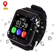 Children GPS Smart Watch Kids Safe Monitor with Camera Support SIM /TF Dial SOS Call Positioning Tracker V7K Watches for Phone