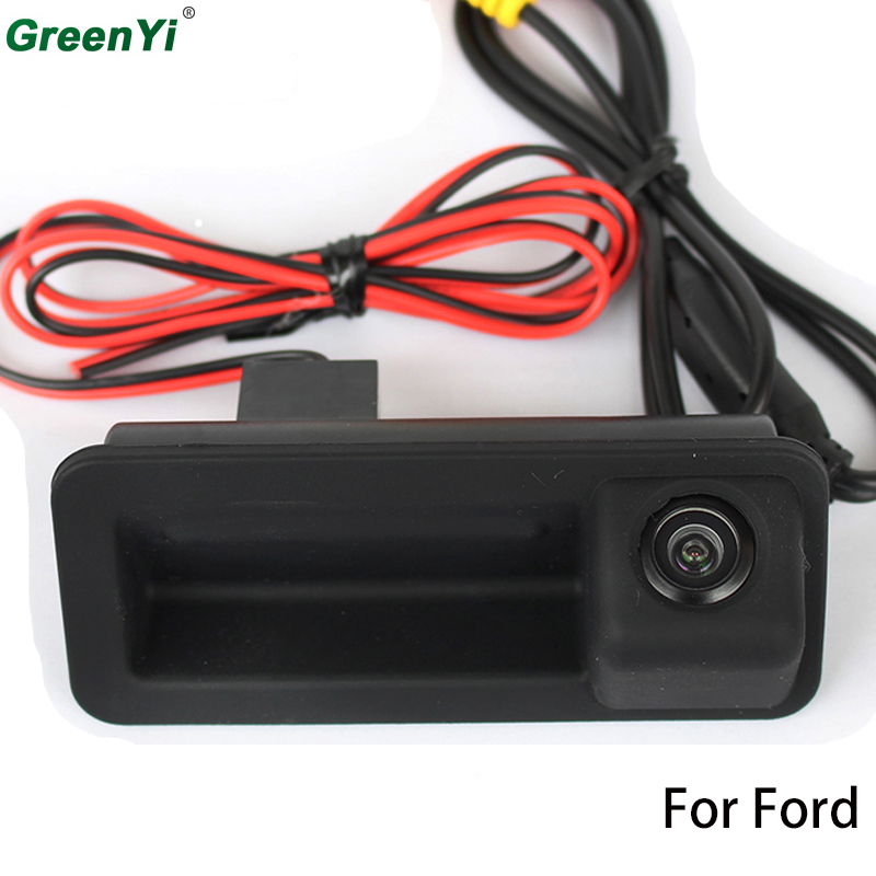 Rear View Camera For Ford Car Trunk Handle Camera For CCD Ford Mondeo Fiesta S-Max Focus 2C 3C Land Rover Freelander Range Rover