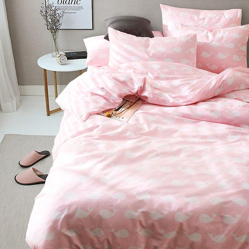designer comforter kawaii bedding set japanese bed covers bedding set king  size cotton cute bedding set animal cells bedding-in Bedding Sets from Home  ... 87eb10c2b