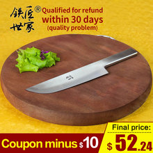 Slicing knife handmade forged stainless steel chef knives cleaver sashimi Fish meat bread kitchen нож кухонный