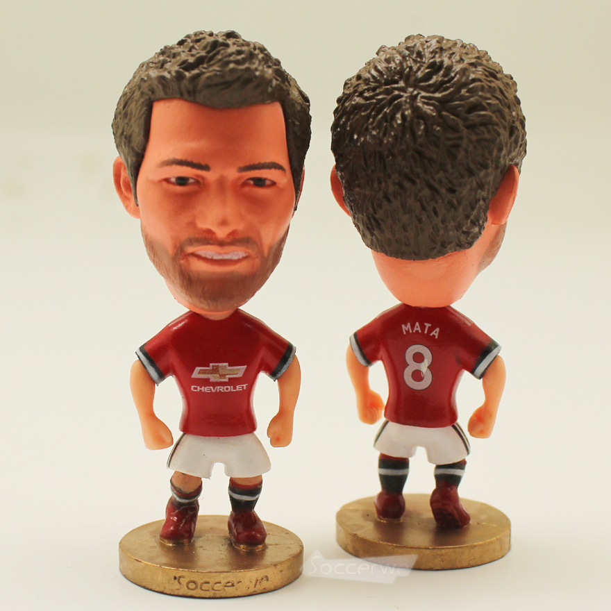 Football star Soccer Star 8# MATA (MU-2018) 2.5 Action Dolls Figurine