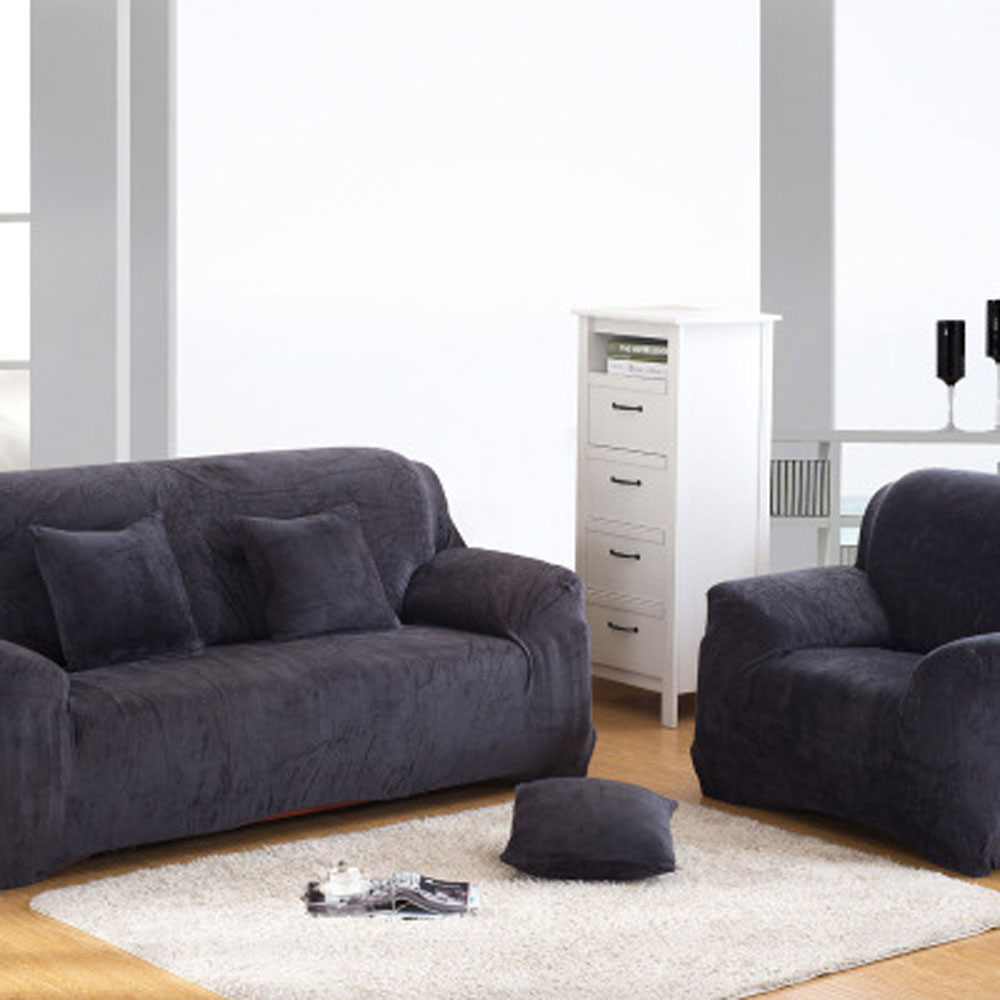 Couch Covers Grey aliexpress : buy pixel stretch sofa slipcover,fashion couch