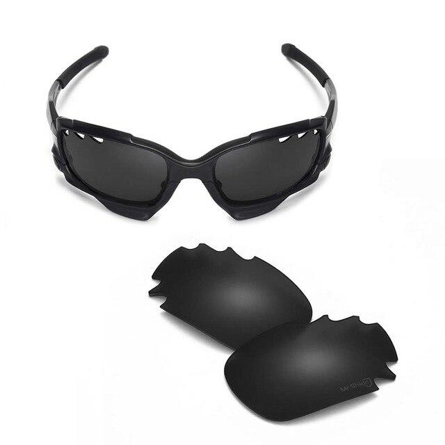Walleva Mr. Щит Высококачественные Поляризованные Сменные Линзы для Oakley Челюсть (полный) Солнцезащитные Очки 2 цвета