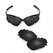 b53295ba6b Walleva Mr. Shield lentes de repuesto polarizados de alta calidad para gafas  de sol Oakley Jawbone (ventilado) 2 colores disponi.