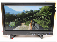LCD modülü ile 10.1 inç ekran taşınabilir ekran PS3 PS4WiiU xbox360 için HDMI ahududu pasta ekran 1080 p