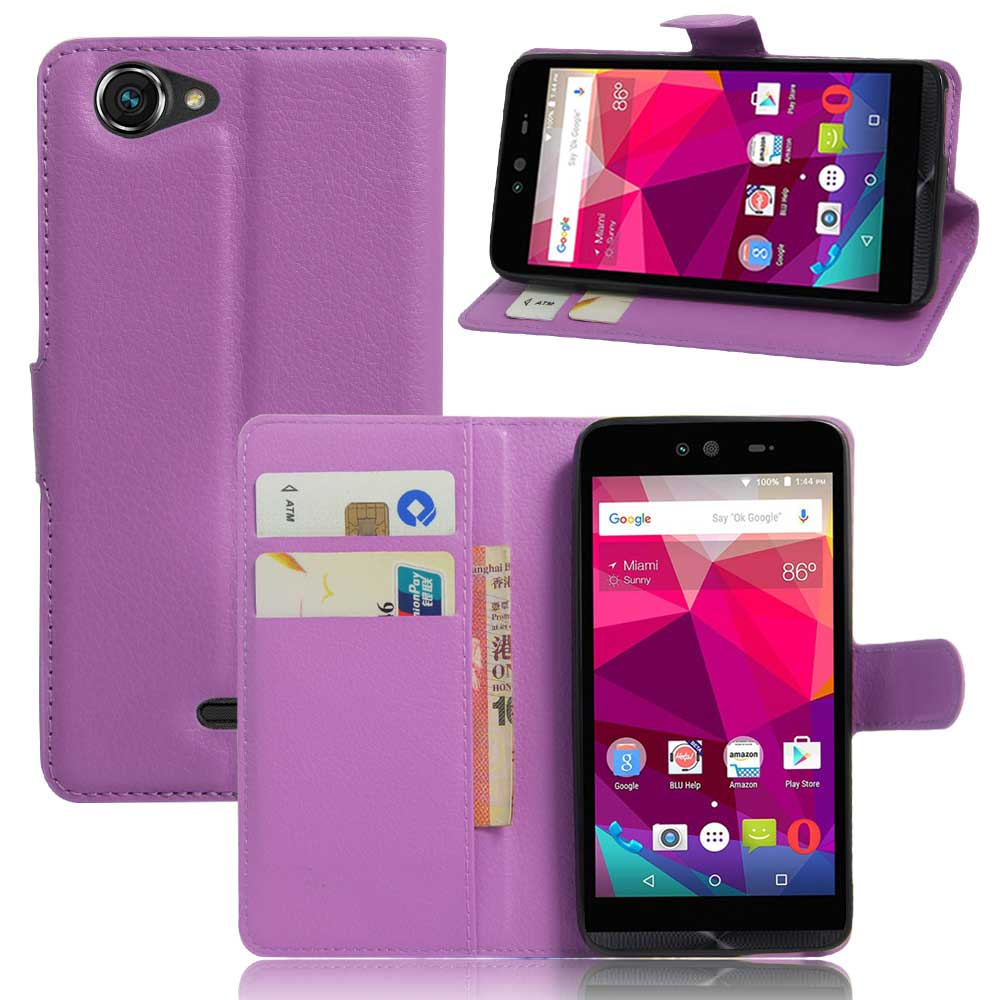 on sale 5c64c 15e97 US $3.41 40% OFF|YINGHUI Flip Case For BLU Dash X D10L D10U 5.0'' Cell  Phone Case Cover PU Leather Bag Skin Coque For BLU Dash X With Card  Holder-in ...