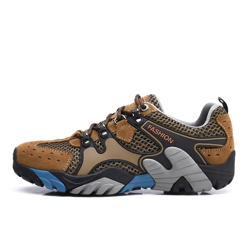 New Arrival Men Hiking Shoes Women Outdoor Sneakers Sports Shoes Breathable Trainers Walking Trekking shoes Man Sneakers peak sport men outdoor bas basketball shoes medium cut breathable comfortable revolve tech sneakers athletic training boots