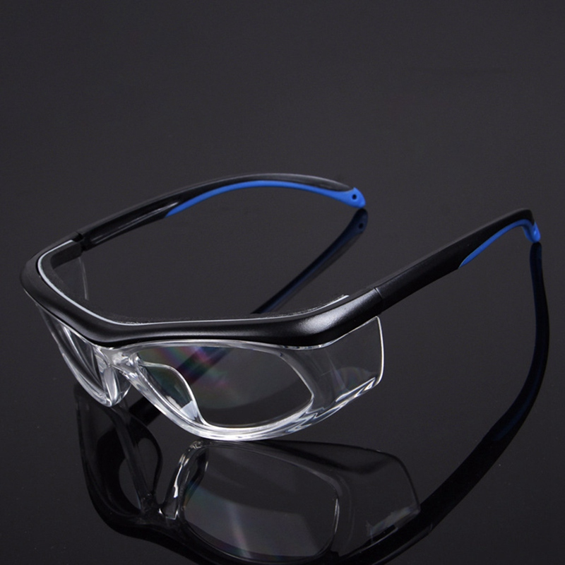 2019 Work Safety Goggles Anti-Splash Wind Dust Proof Protective Glasses Optical Lens Frame For Research Cycling Eyes Protector