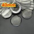 20 pcs 40mm claro cúpula ampliação cabochão rodada de vidro, foto inserções jóias pingente de vidro