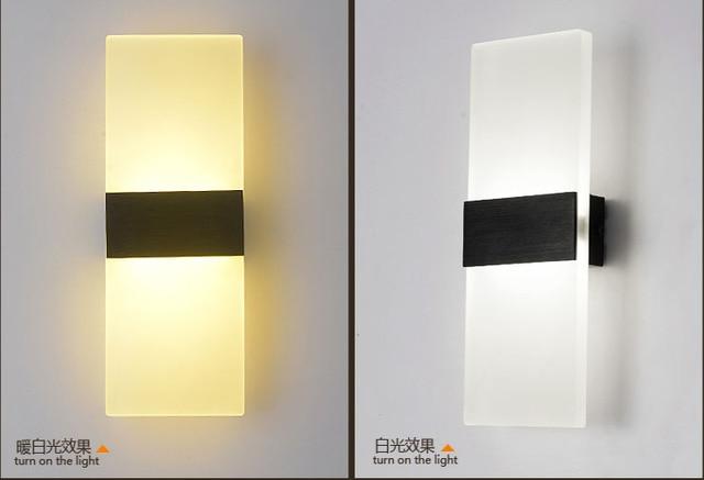 Otoups moderna lampade abajur applique murale bagno applique da