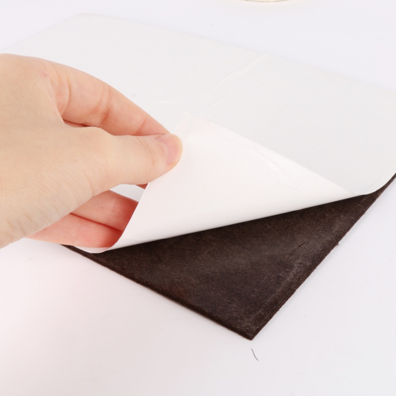New felt heavy self-adhesive felt mat wood flooring maintenance furniture felt protection pad Felt