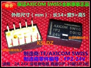Image 3 - משלוח חינם הרבה (10 יח\חבילה) 100% חדשים מקורי FP2 5V D3001 FP2 12V D3002 FP2 24V D3012 10 סיכות 5VDC 2A 12VDC 24VDC ממסר איתות
