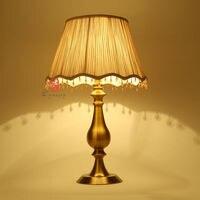 2Pcs/Lot Modern Art Decoration E27 110V/220V American Europe Style Table Lamp Bedside Study Reading Bedroom Hotel Lights Dynasty