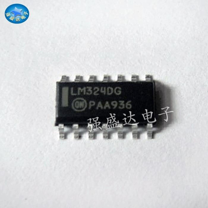 10pcs LM2902DG LM2902DR2G SOP-14 Single Supply Quad Operational Amplifiers